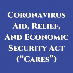 CARES Act blog image